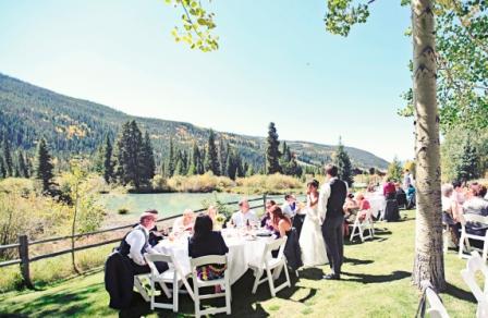 Repas de mariage a midi