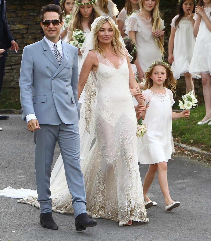 Mariage de Kate Moss