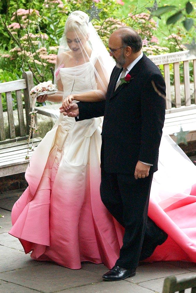 robe de mariee gwen stephani