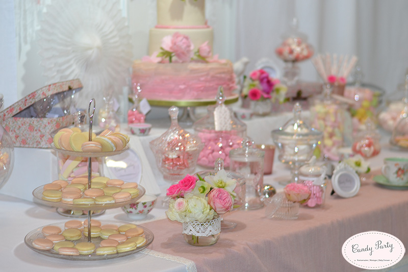 Ma sweet table sera chic et canon - Table de mariage chic ...