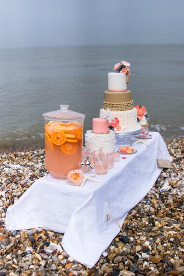 table de mariage nautique