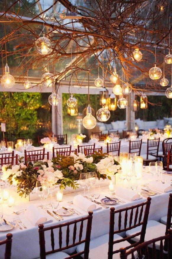 table de mariage theme industriel