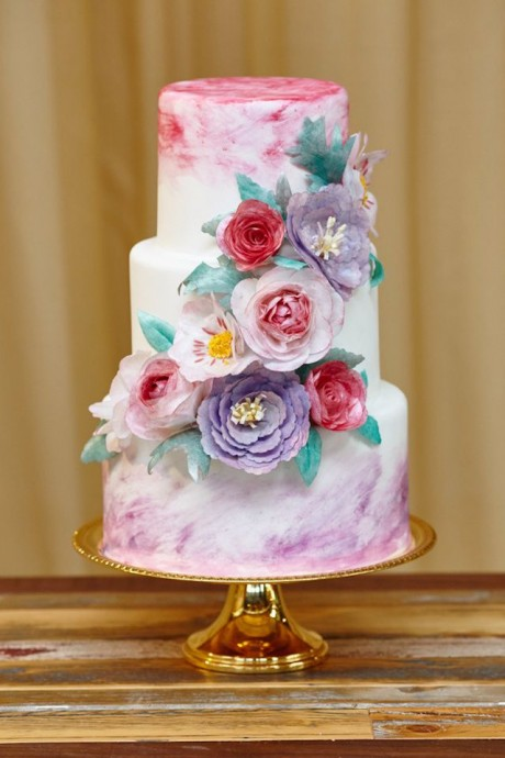 wedding cake printemps