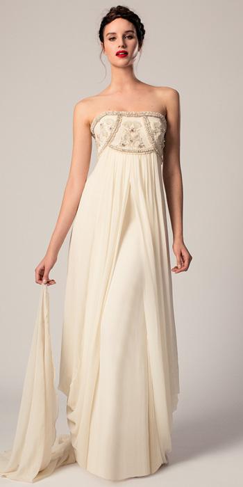 9 robes de mari e taille empire blouissantes