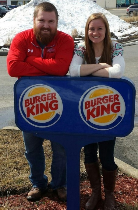 Couple Burger King