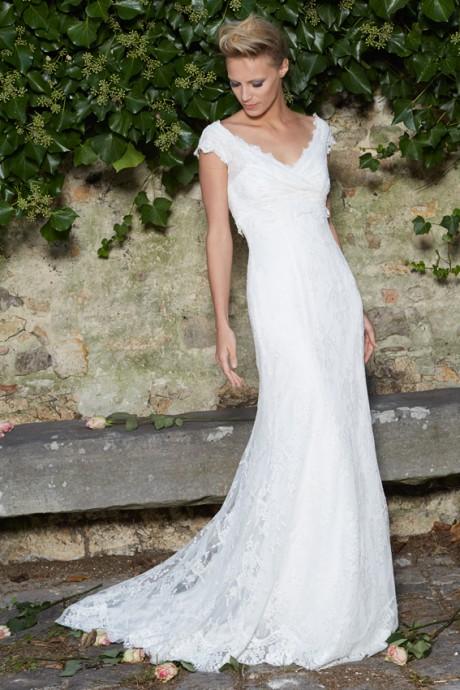 La robe empire Iolana de chez Cymbeline, simple et chic à la fois