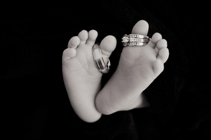 bebe ne le jour du mariage