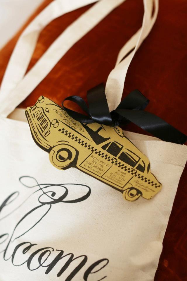 cadeau invites mariage new york