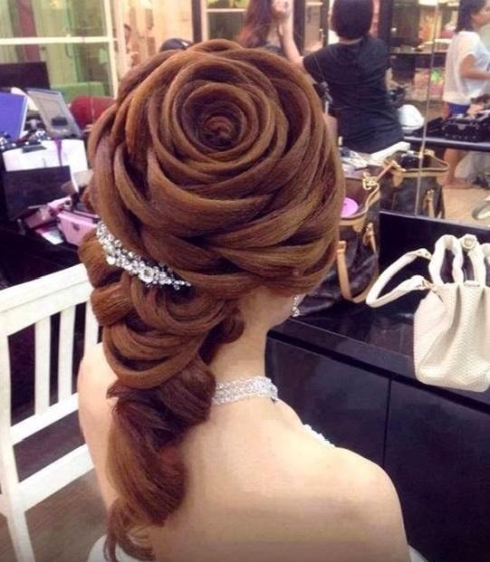 coiffure de mariage originale