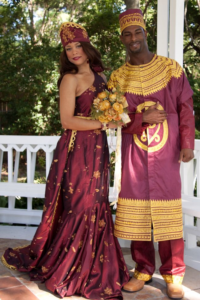 costumes traditionnels mariage afrique