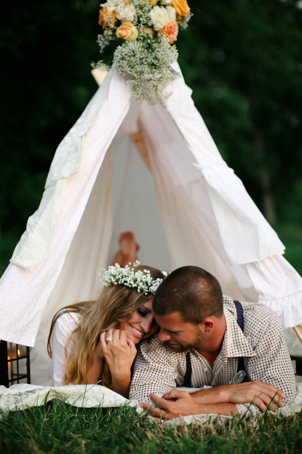 couple maries tipi
