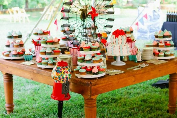 decoration mariage theme cirque
