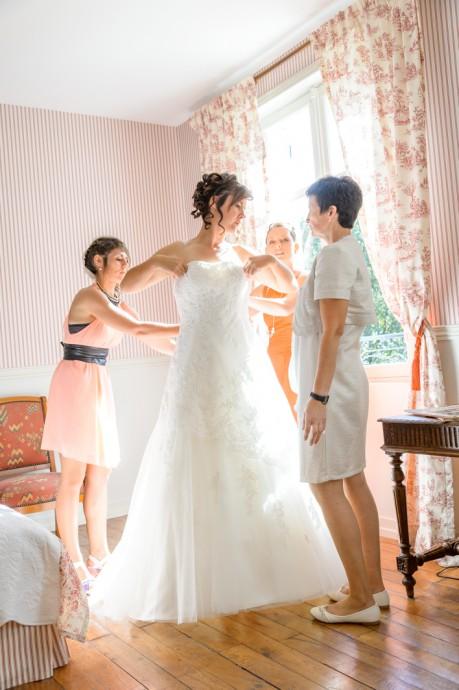mariage charlotte et mathias preparation
