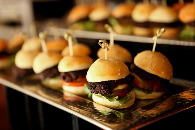 mini hamburger pour mariage theme new york