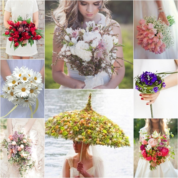 montage bouquets