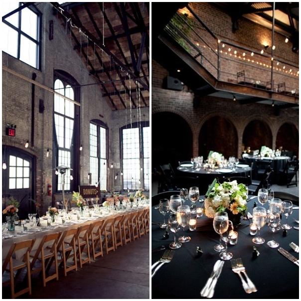 montage photo lieu pour un mariage theme new york