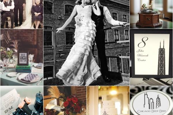 montage photo mariage chicago prohibition