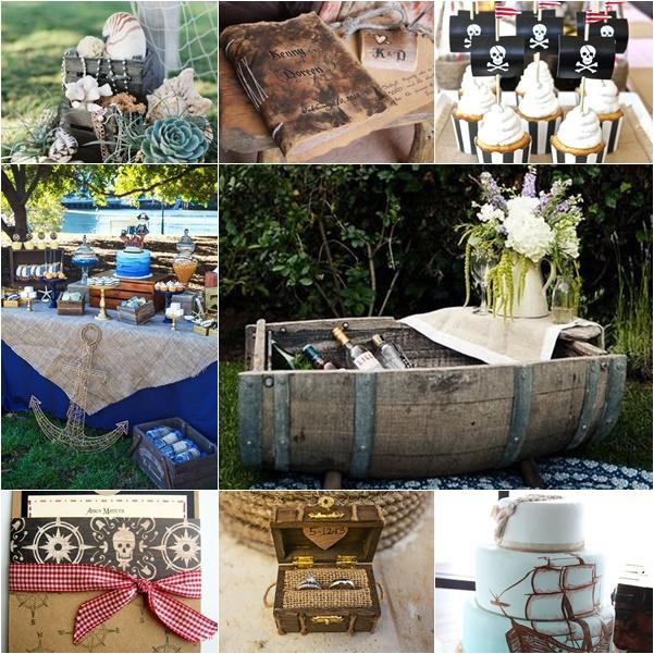 montage photo mariage theme pirates