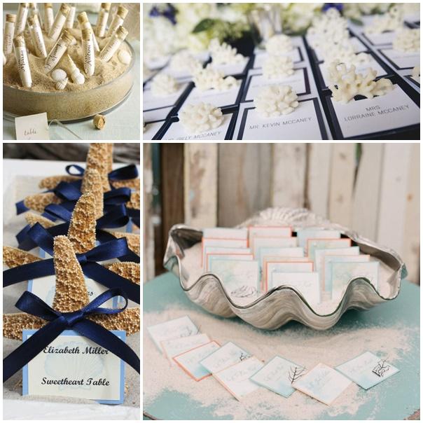 montage plan de table mariage bord de mer