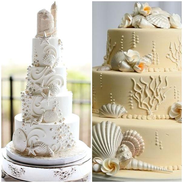 montage wedding cake mariage bord de mer