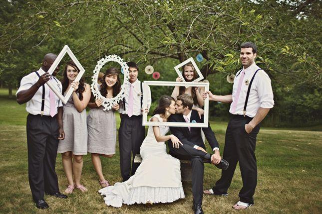 D coration de mariage des vieux cadres a sert toujours - Photo de mariage ...