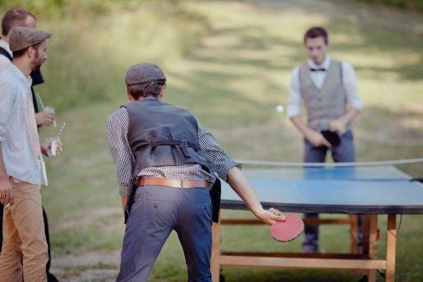 ping pong mariage kermesse