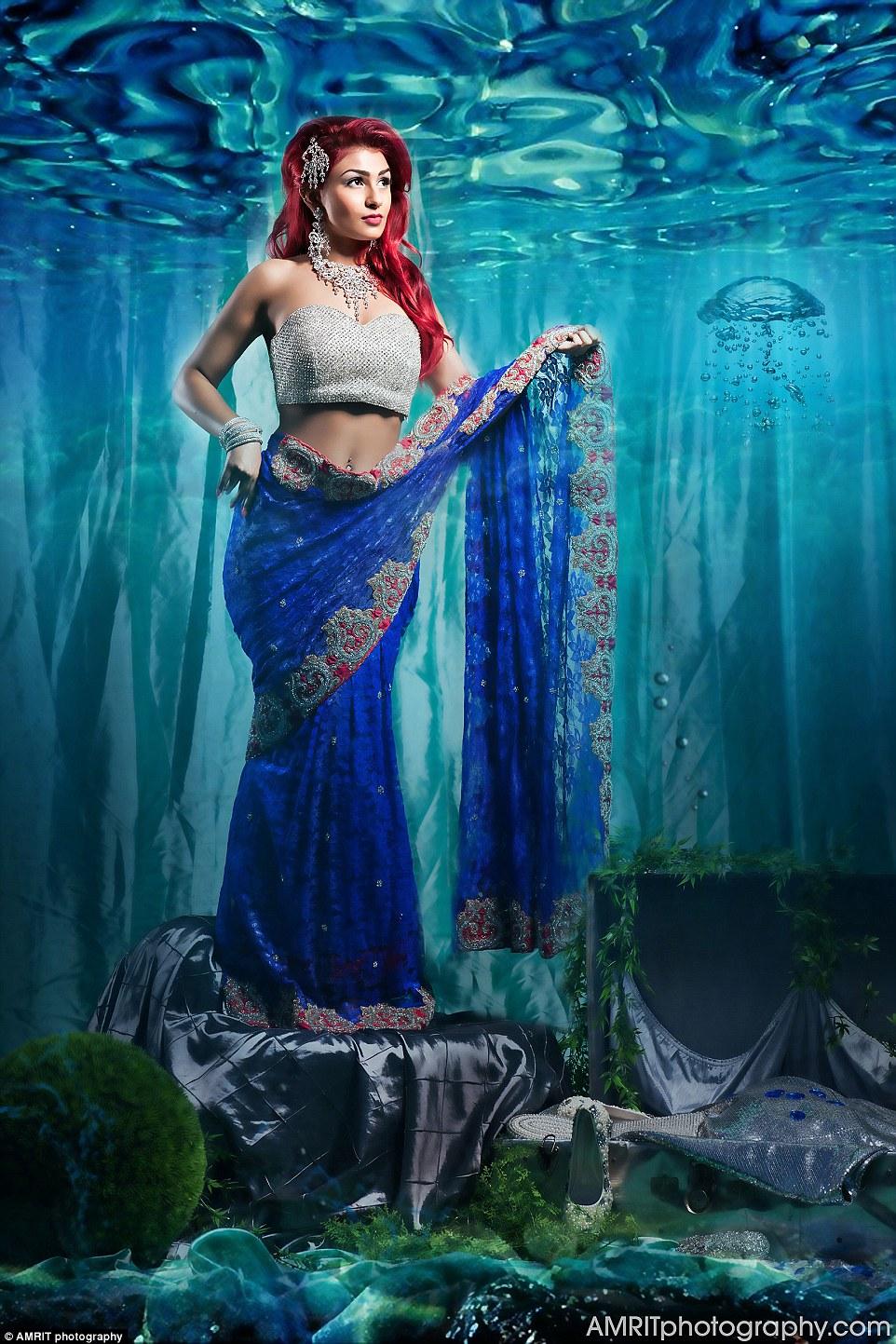 princesse disney indienne ariel