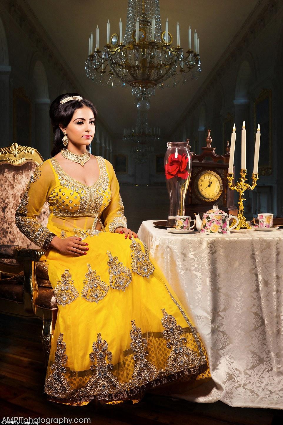 princesse disney indienne belle