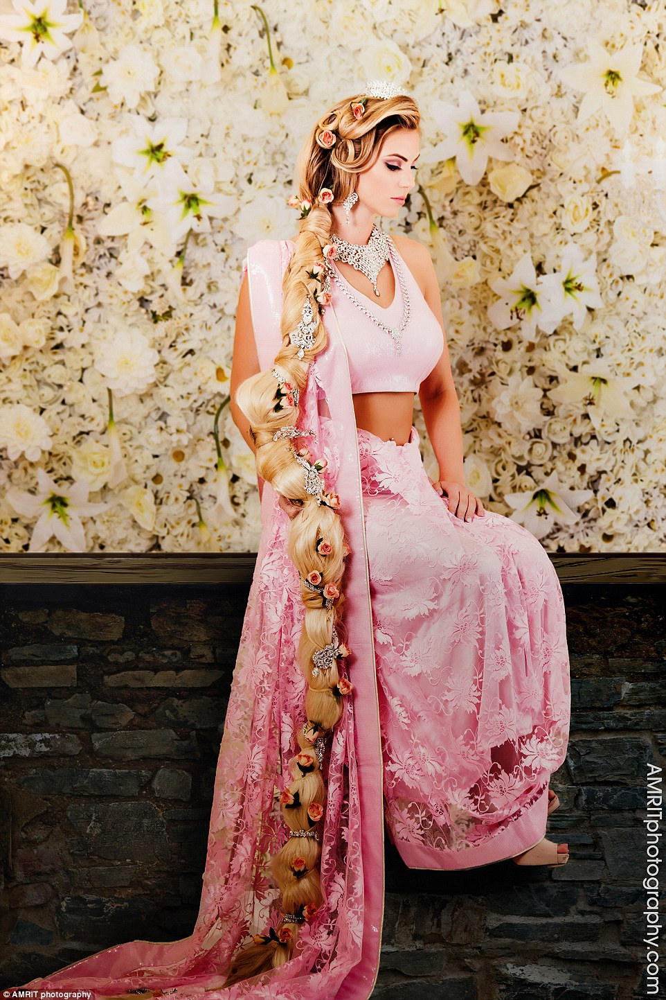 princesse disney indienne raiponce