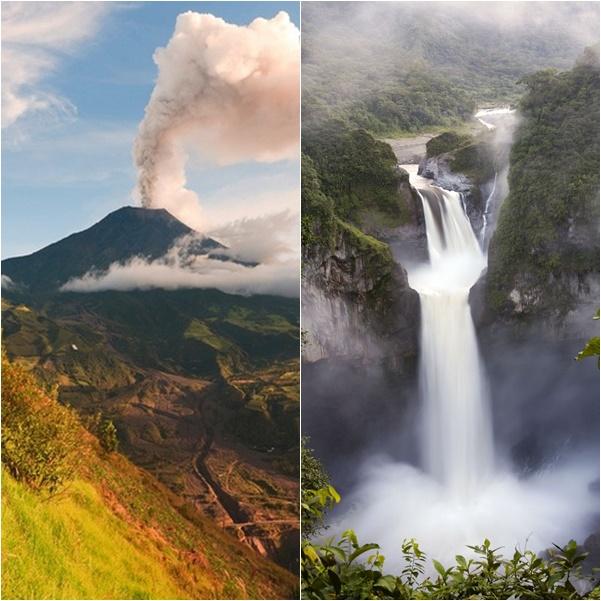 route des volcans