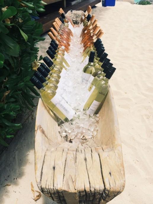 se marier la plage vin dhonneur