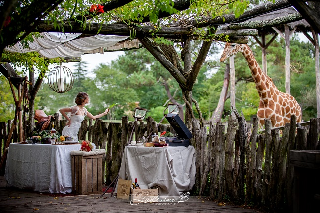 shooting photo mariage out of africa
