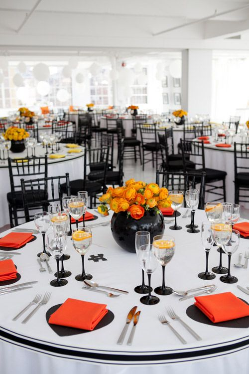 table de mariage ambiance new york