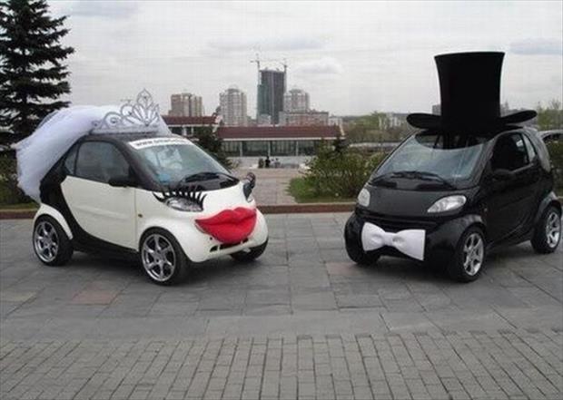 voitures mariage