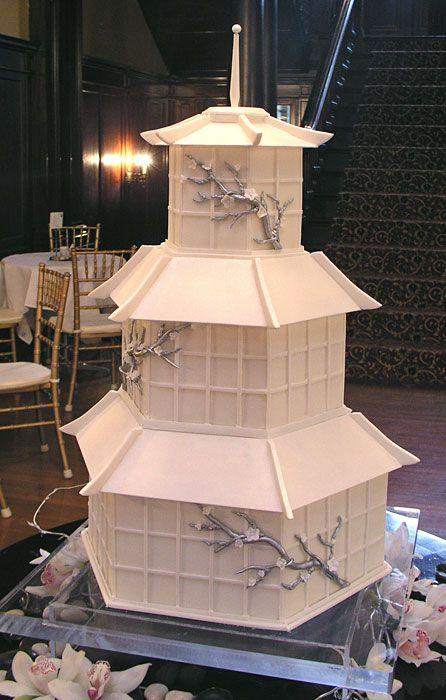 wedding cake mariage japonais