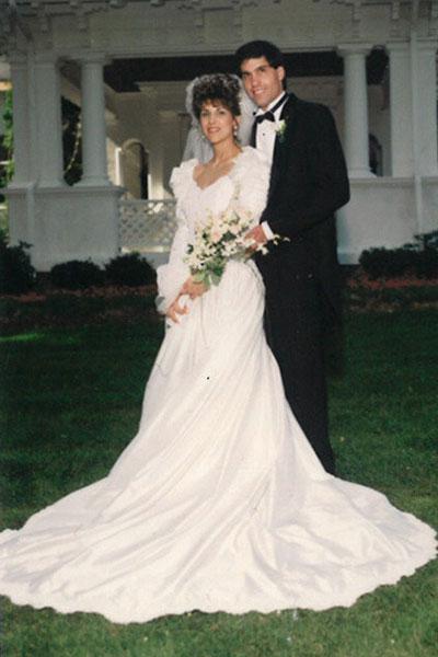Les robes de mariées sont de plus en plus fines à partir des années 90.