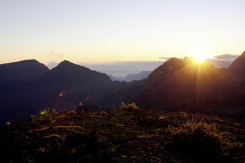 Sunrise from Piton Maïdo
