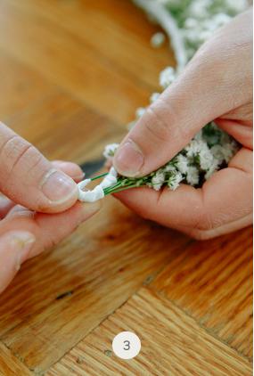 DIY couronne de fleurs 3