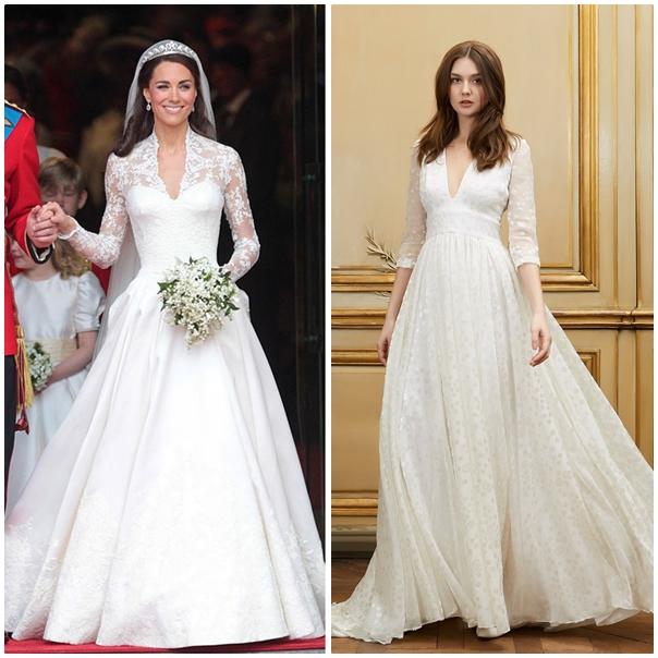 ffc3e72effe Des manches longues comme Kate Middleton ...