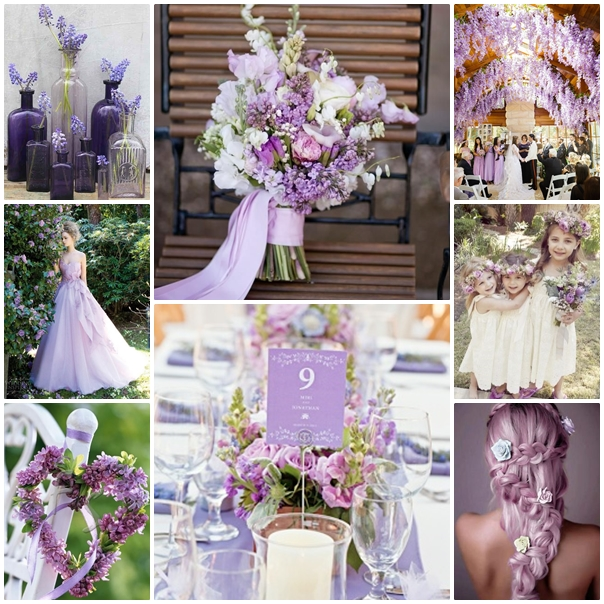 Montage mariage Lilas