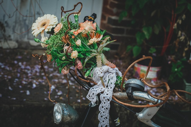 Shooting inspiration bouquet retro