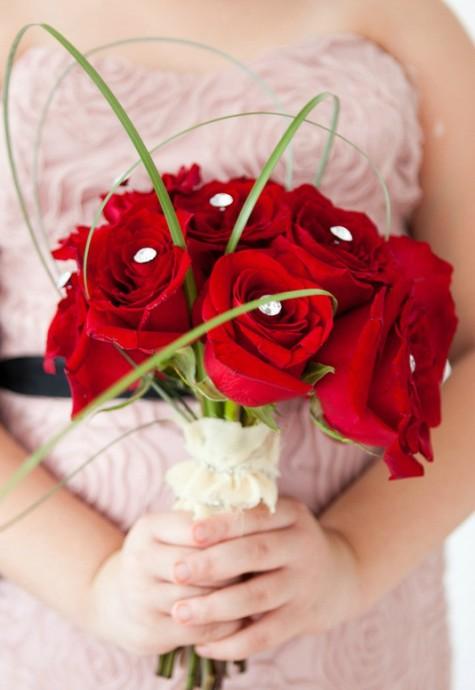 bouquets de mariée-mariage-bijoux-rouge