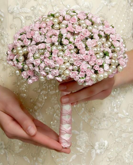 bouquets de mariée-mariage--bijoux-perles