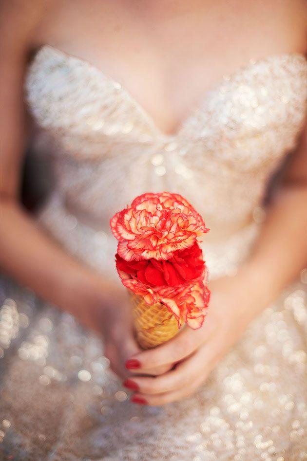 bouquet cornet