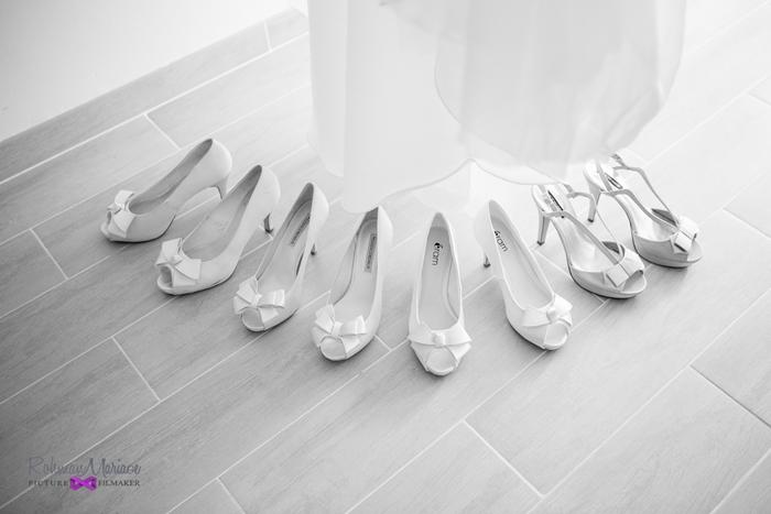 chaussures de mariage de sophie