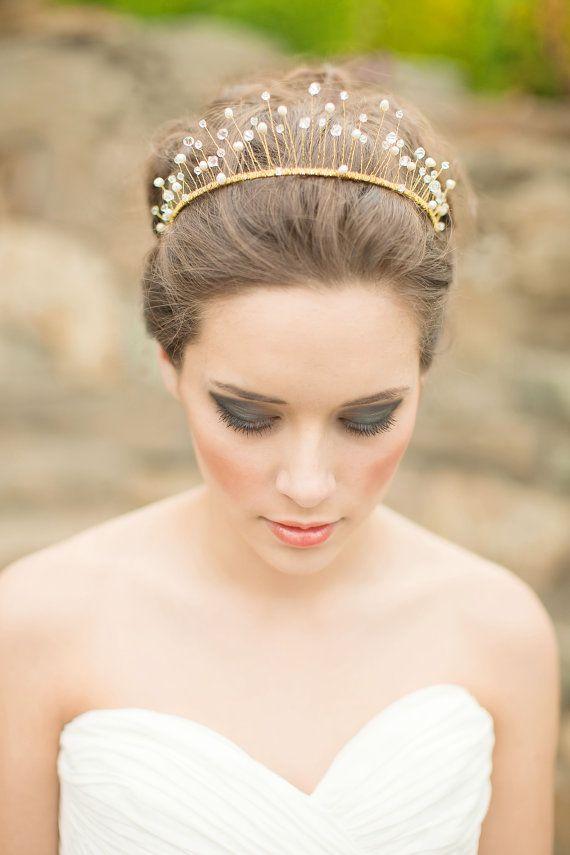 coiffure de mariage diademe princesse