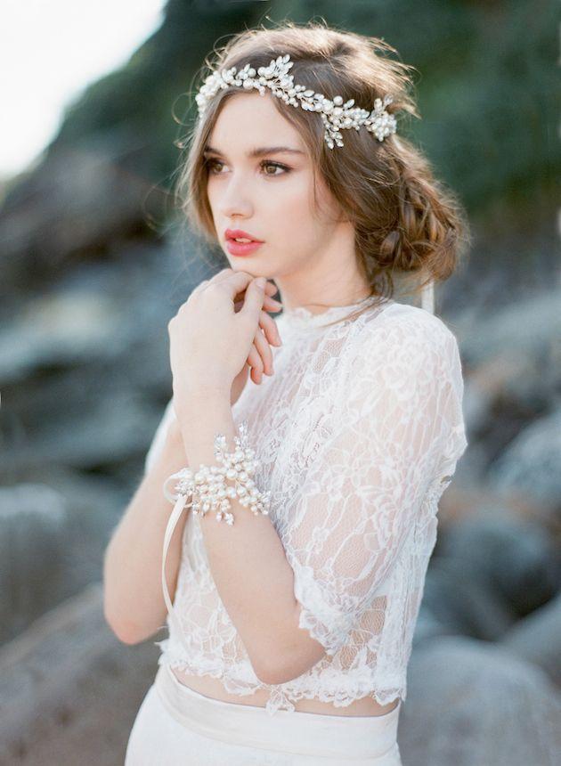 coiffure de mariage princesse diademe