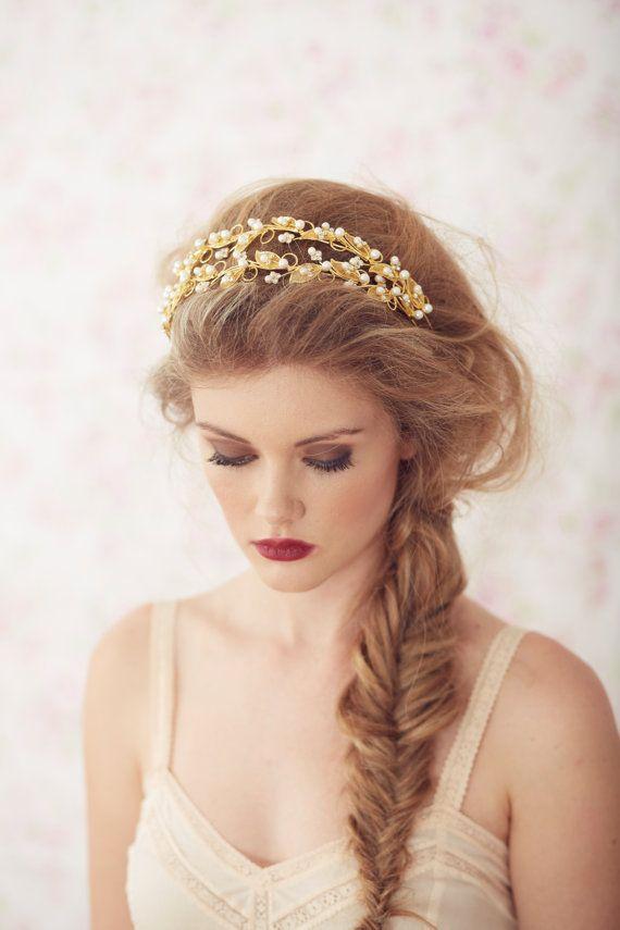 coiffure de princesse a son mariage