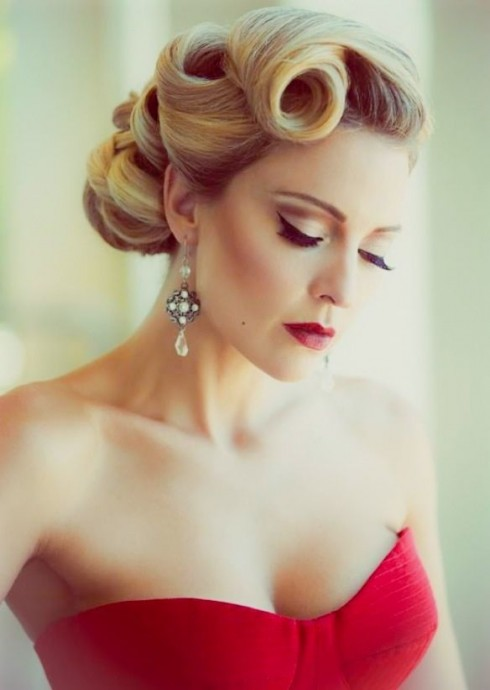coiffure mariee pin up (10)