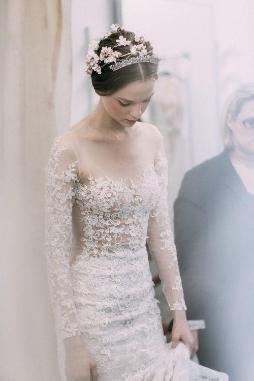 coiffure romantique mariage princesse